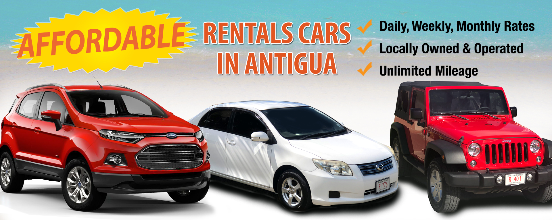 Super Summer Savings Rent a vehicle for 3 days and get the next day FREE!