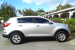 Kia Sportage Jeep Rental